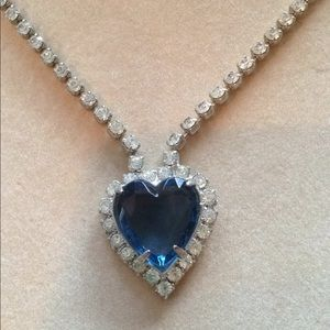 Jewelry - Titanic Heart of the Ocean Vintage Necklace